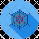 Cobweb Spider Net Icon