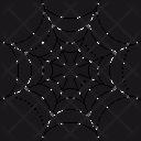 Horror Holiday Cobweb Icon