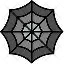 Cobweb Halloween Spider Icon
