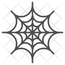 Cobweb Spider Scary Icon