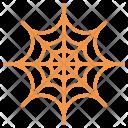 Cobweb Spider Horror Icon
