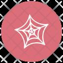 Cobweb Spider Web Icon