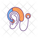 Implant Deaf Loss Icon