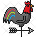 Cock Direction Wind Direction Cock Icon