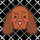 Cocker Spaniel Dog Slightly Icon