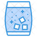 Cocktail Ice Icon