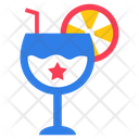 Soft Drink American Drink Drink Glass Icon