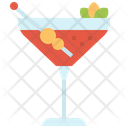 Cocktail Drinks Glass Icon