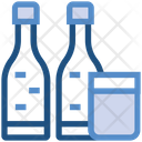 Drink Glass Bottles Icon
