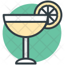 Cocktail Drink Margarita Icon
