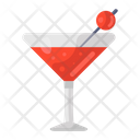 Cocktail Juice Soft Drink Icon