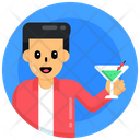 Drink Wine Cocktail Icon