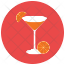 Orange Cocktail Healthy Icon