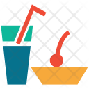 Cocktail Refreshment Restaurant Icon