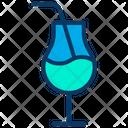 Mocktail Juice Drink Icon