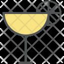 Cocktail Margarita Appetizer Icon