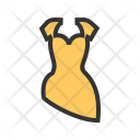 Cocktail Dress Party Icon