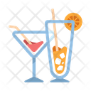 Cocktails Alcohol Drinks Icon