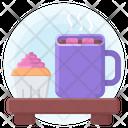 Cocoa Marshmallow Hot Icon
