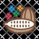 Cocoa Fruit Aztec Icon