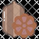 Cocoa Chocolate Dessert Icon