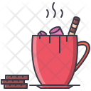 Cocoa Cup Marshmallow Icon