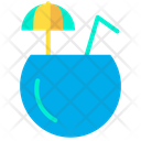Coconut Juice Juice Fresh Juice Icon