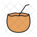 Coconut Coco Drink Icon