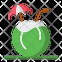 Coconut Coconut Juice Coconut Drink Icon