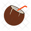 Coconut Drink Water Icon