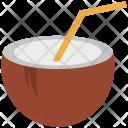 Coconut Juice Water Icon