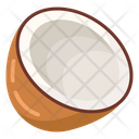 Coconut Coconut Milk Tropical Fruit Icon