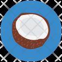 Coconut Half Coco Icon