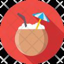 Drink Beach Coconut Icon