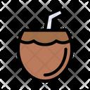 Coconut Juice Drink Icon