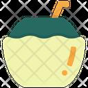Coconut Coconut Drink Holiday Icon