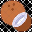 Coconut Tropical Fruit Icon