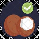 Keto Diet Coconut Ketogenic Icon