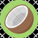Coconut Coco Healthful Icon