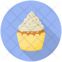 Coconut Cupcake Icon