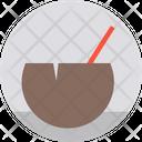Coconut Drink Beach Drink Coconut Icon