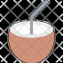 Beverage Coconut Coconut Water Icon