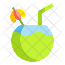 Coconut Milk Drink Icon