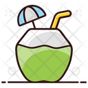 Coconut Drink Smoothie Drink Refreshing Drink Icon