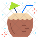 Coconut Drink Coconut Cocktail Icon