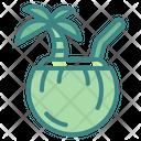 Coconut Drink Coconut Juice Coconut Water Icon