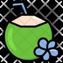 Coconut Drink Icon