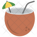 Coconut Drink Milk Icon