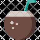 Coconut Drink Beverage Icon
