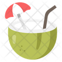 Coconut Juice Coconut Water Coconut Icon